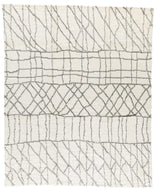 Sketch II White Grey, a hand knotted rug designed by Tufenkian Artisan Carpets.