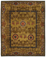 INVERNESS NOCTURNE, a hand knotted rug designed by Tufenkian Artisan Carpets.