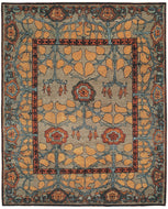 INVERNESS TRUFFLE, a hand knotted rug designed by Tufenkian Artisan Carpets.