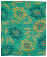 FLOWER POWER CALYPSO is a hand knotted rug by Tufenkian Artisan Carpets