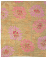 FLOWER POWER PIXIE is a hand knotted rug by Tufenkian Artisan Carpets