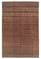 RAG WEAVE ROSEBERRY, a hand knotted rug designed by Tufenkian Artisan Carpets.