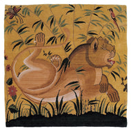MUGHAL TIGER MAIZE, a hand knotted rug designed by Tufenkian Artisan Carpets.