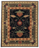 BIG DONEGAL EBONY, a hand knotted rug designed by Tufenkian Artisan Carpets.