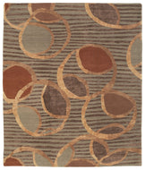 IONE COPPER PENNY, a hand knotted rug designed by Tufenkian Artisan Carpets.