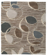 IONE SILVER NICKEL, a hand knotted rug designed by Tufenkian Artisan Carpets.