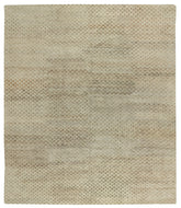 BUBBLES BROWN RICE, a hand knotted rug designed by Tufenkian Artisan Carpets.