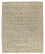 COBBLESTONE BROWN RICE, a hand knotted rug designed by Tufenkian Artisan Carpets.