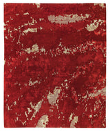 BUTTERFLY RUBY, a hand knotted rug designed by Tufenkian Artisan Carpets.