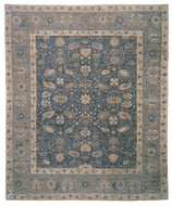 JASMINE LAPIS SHEARED, a hand knotted rug designed by Tufenkian Artisan Carpets.