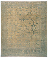 MAHABAD SOAPSTONE SHEARED, a hand knotted rug designed by Tufenkian Artisan Carpets.
