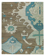VOLOS WINTER LAKE, a hand knotted rug designed by Tufenkian Artisan Carpets.