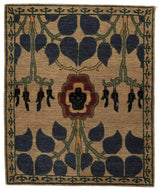 Inverness Tiffany Custom 3x4, a hand knotted rug designed by Tufenkian Artisan Carpets.