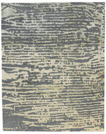 Streets of Paris Silverplate Custom rug, a hand knotted rug designed by Tufenkian Artisan Carpets.