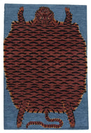 TIGER CHESNUT, a hand knotted rug by Tufenkian Artisan Carpets