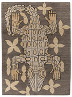 Crocodile Natural Custom, a hand knotted rug designed by Tufenkian Artisan Carpets.