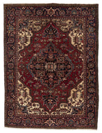SEMI-ANTIQUE PERSIAN HERIZ