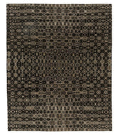 Arpeggio Charcoal is a hand knotted rug by Tufenkian Artisan Carpets