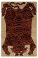 ADONIS RUST/HONEY, a hand knotted rug designed by Tufenkian Artisan Carpets.