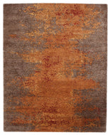 SIERRA RED, a hand knotted rug designed by Tufenkian Artisan Carpets.