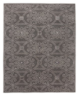 MARQUIS PEWTER is a hand knotted rug by Tufenkian Artisan Carpets