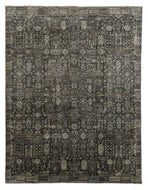 RANI CHARCOAL, a hand knotted rug designed by Tufenkian Artisan Carpets.