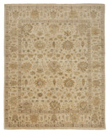 BARROW WHITE, a hand knotted rug designed by Tufenkian Artisan Carpets.