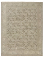 KASHGAR BROWN BEIGE, a hand knotted rug designed by Tufenkian Artisan Carpets.