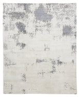 SUMMIT WHITE, a hand knotted rug designed by Tufenkian Artisan Carpets.