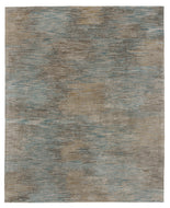 NIMBUS TURQUOISE, a hand knotted rug designed by Tufenkian Artisan Carpets.