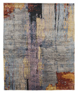 GERHARD CONCRETE, a hand knotted rug designed by Tufenkian Artisan Carpets.