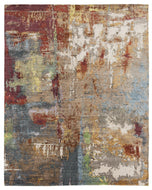 JACKSON FIREWOOD, a hand knotted rug designed by Tufenkian Artisan Carpets.