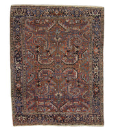 SEMI ANTIQUE PERSIAN HERIZ ALL OVER DESIGN