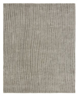 FOURIER II GREY, a hand knotted rug designed by Tufenkian Artisan Carpets.