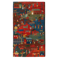 HIMALAYAN LIFE #80 is a hand knotted rug by Tufenkian Artisan Carpets