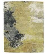 Aberdeen II Lime is a hand knotted rug by Tufenkian Artisan Carpets