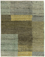 Adamento Olive, a hand knotted rug designed by Tufenkian Artisan Carpets.