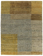 Adamento Wheat, a hand knotted rug designed by Tufenkian Artisan Carpets.