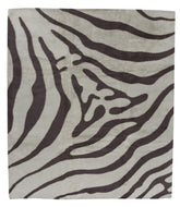 Zebra Nomad is a hand knotted rug by Tufenkian Artisan Carpets