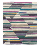 Abstract Fall, a hand knotted rug design by Tufenkian Artisan Carpets