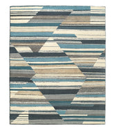 ABSTRACT WINTER is a hand knotted rug by Tufenkian Artisan Carpets