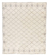 AMULET IVORY, a hand knotted rug designed by Tufenkian Artisan Carpets.