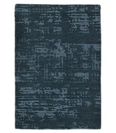 Burlap II Cerulean, a hand knotted rug designed by Tufenkian Artisan Carpets.