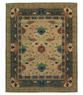 BIG DONEGAL TIFFANY, a hand knotted rug designed by Tufenkian Artisan Carpets.