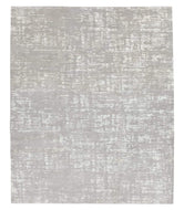 Burlap II Pearl, a hand knotted rug designed by Tufenkian Artisan Carpets.
