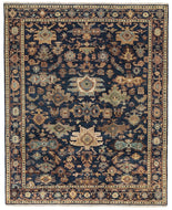 Classic Heriz 1 Navy, a hand knotted rug designed by Tufenkian Artisan Carpets.