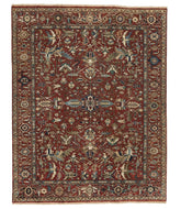 Classic Heriz 3 Red, a hand knotted rug designed by Tufenkian Artisan Carpets.