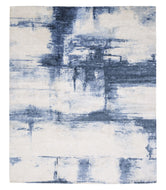 CANVAS DENIM, a hand knotted rug designed by Tufenkian Artisan Carpets.