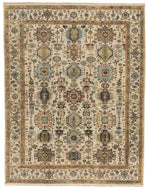 Classic Heriz 8 Beige, a hand knotted rug designed by Tufenkian Artisan Carpets.