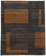 Facade Chestnut, a hand knotted rug designed by Tufenkian Artisan Carpets.
